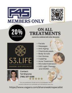 f45 renew 20% off special sharone skin specialist